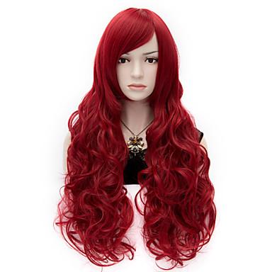 η μαλακότητα Ευρώπης και της Αμερικής το κρασί άνεμος κόκκινο καθολική πρόσωπο σγουρά μαλλιά και μεγάλου όγκου