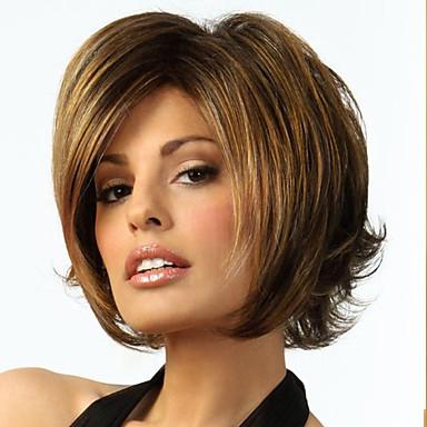 Искусственные волосы парики Волнистый Без шапочки-основы парик Костюм