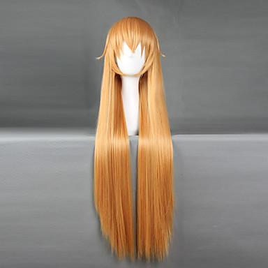 Cosplay Parykker Shokugeki ingen Soma Nakiri erina Blond Anime Cosplay-parykker 28 tommers Varmeresistent Fiber Herre Dame Halloween-parykker