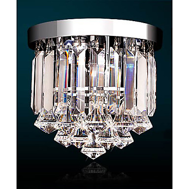 Chandelier ,  Traditional/Classic Electroplated Feature for Crystal LED Mini Style Crystal Hallway