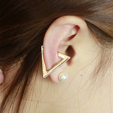 Női Klipszes fülbevalók Személyre szabott Méretes ékszerek Ötvözet Ékszerek