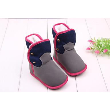 Αγορίστικα / Κοριτσίστικα Παπούτσια Ύφασμα Χειμώνας Ανατομικό / Μοντέρνες μπότες Μπότες Με Τρουκ για Γκρίζο / Φούξια / Μποτίνια