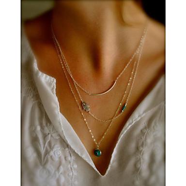 Damen Layered Ketten - Böses Auge Modisch Farbbildschirm Modische Halsketten Schmuck Für