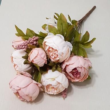 Kunstige blomster 1 Gren Moderne Stil Peoner Bordblomst