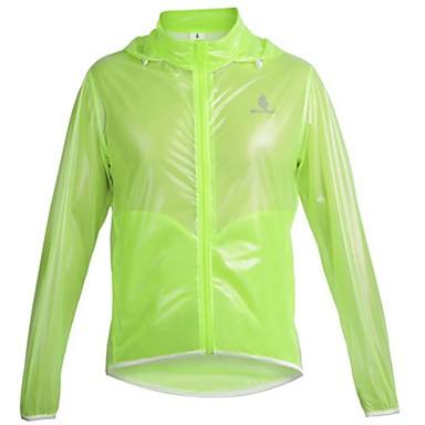 WOLFBIKE® Велокуртки Жен. / Муж. / унисекс Длинные рукава ВелоспортВодонепроницаемый / С защитой от ветра / Дожденепроницаемый / Задний