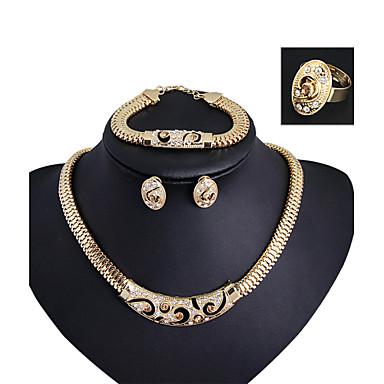 moderne jente kvinners mote søte søte smykker passer elegant stil
