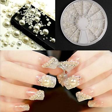 Biżuteria na paznokcie - Palec - Streszczenie/Ślub - ABS - 6X6X0.8 - 1