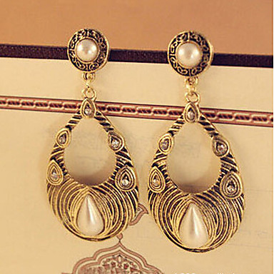 Σκουλαρίκι Κρεμαστά Σκουλαρίκια Κοσμήματα 2pcs Κράμα Γυναικεία Ασημί