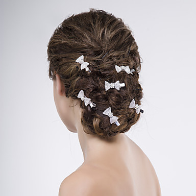 Alloy Hair Pin 1 Wedding Special Occasion Casual Headpiece