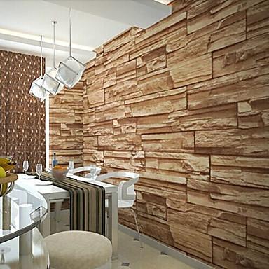Γεωμετρικό Αρχική Διακόσμηση Σύγχρονο Κάλυψης τοίχων, PVC/Vinyl Υλικό κόλλα που απαιτείται ταπετσαρία, δωμάτιο Wallcovering