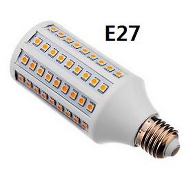 GU10 E26/E27 LED kukorica izzók T 108 led SMD 5050 Meleg fehér Természetes fehér 800-950lm 3000K AC 100-240V