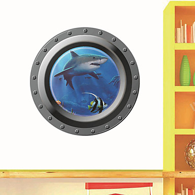Tiere 3D Cartoon Design Wand-Sticker 3D Wand Sticker Dekorative Wand Sticker, Vinyl Haus Dekoration Wandtattoo Wand