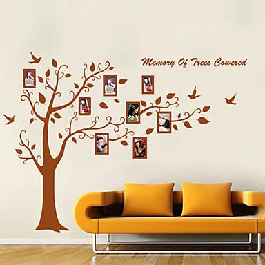 стены стикеры наклейки для стен стиль memary деревьев фото ПВХ стены наклейки