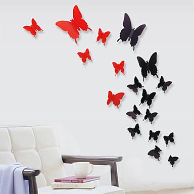 Ζώα Μόδα Αυτοκολλητα ΤΟΙΧΟΥ Αεροπλάνα Αυτοκόλλητα Τοίχου Διακοσμητικά αυτοκόλλητα τοίχου, Βινύλιο Αρχική Διακόσμηση Wall Decal Τοίχος