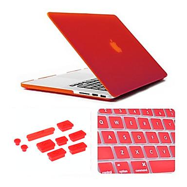MacBook Case for Solid Color Transparent Plastic Macbook Pro 15-inch