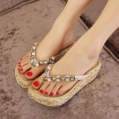 Γυναικεία παπούτσια - Σαγιονάρες - Φόρεμα - Ενιαίο Τακούνι - Ενιαία Σόλα    Πλατφόρμες   Λουράκι 389bcdf37c6