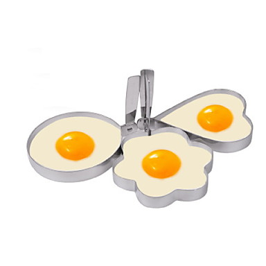 Plastic Creative Kitchen Gadget Egg DIY Mold