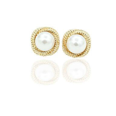 Sitne naušnice Moda Europska Imitacija bisera Pozlaćeni Legura Zlato Jewelry Za 1set