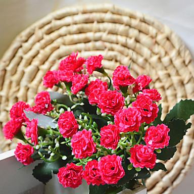 Kunstige blomster 1 Gren Enkel Stil Syrin Bordblomst