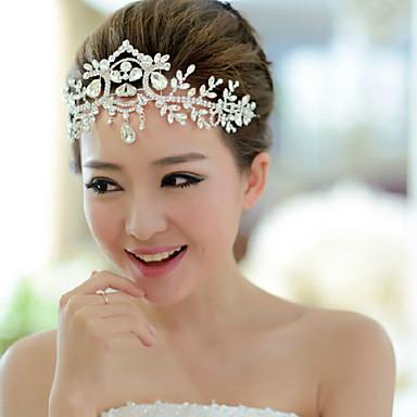 abordables Bijoux de Cheveux-Acrylique Bandeaux avec 1 Mariage / Occasion spéciale Casque
