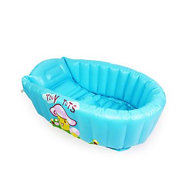 voordelige water Speeltjes-opblaasbaar babybadje, smaakloos cartoon model, speciaal tweelaags ontwerp om een goede warmte behoud effect te verkrijgen