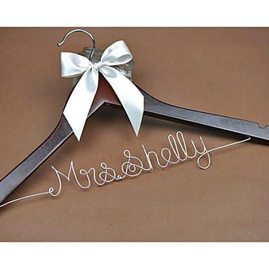 Bride Bridesmaid Flower Girl Couple Wood Aluminum Alloy Creative Gift Wedding Congratulations Thank You
