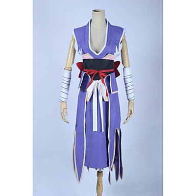 Inspired by Fairy Tail Elza Scarlet Anime Cosplay Costumes Cosplay Suits Patchwork Sleeveless Skirt Armlet Corset Waist Accessory Belt For