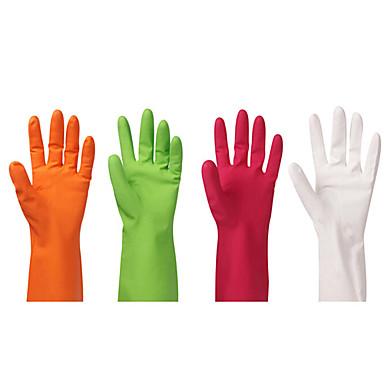 כפפות לטקס גומי לשטיפת כלים במטבח ארוכים ניקוי יד להגן