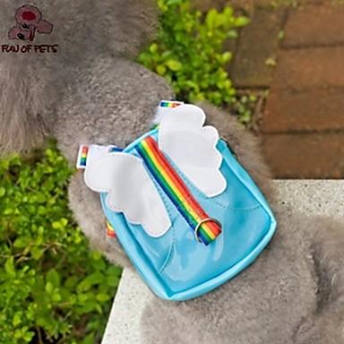 Собаки Рюкзак Синий Розовый Одежда для собак Лето Ангел и черт Милые