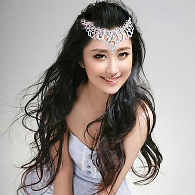 κράμα headbands headpiece γάμο κόμμα κομψό θηλυκό στυλ