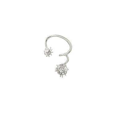 Earring Ear Cuffs Jewelry Women Wedding / Party / Daily / Casual / Sports Alloy / Rhinestone 1pc