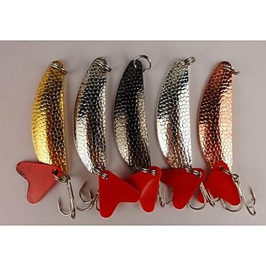 4 pcs Leurre forme de cuillère leurres de pêche Cuillères g / Once mm / 2-1/4