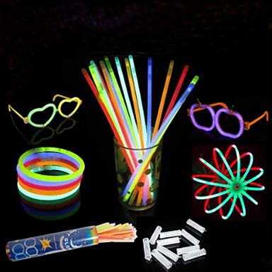 Недорогие Игрушки с подсветкой-100 шт концерт поднимет реквизит флуоресценции палку (цвета случайным)