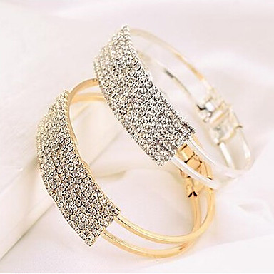 Women's Bangles - Casual Fashion Gold Silver Bracelet For Daily