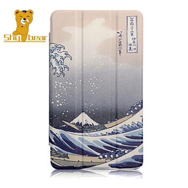 ντροπαλή αρκούδα ™ περίπτερο κάλυψη περίπτωσης δέρματος για το Huawei T1 t1-701u 7