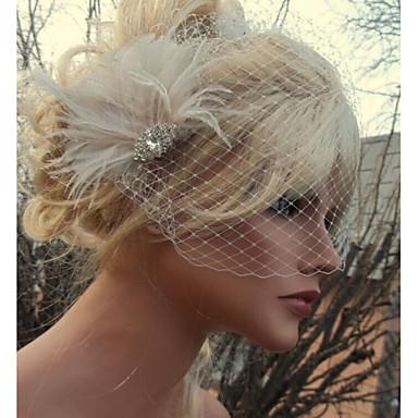 Φτερό Αξεσουάρ μαλλιών Φτερό Αξεσουάρ Περούκες Για γυναίκες