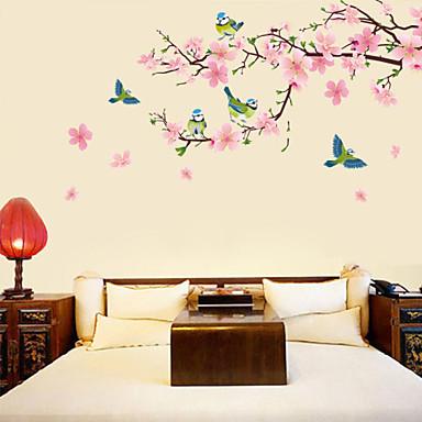 Dekorative Wand Sticker - Flugzeug-Wand Sticker Blumen / Botanisch Wohnzimmer / Schlafzimmer / Esszimmer