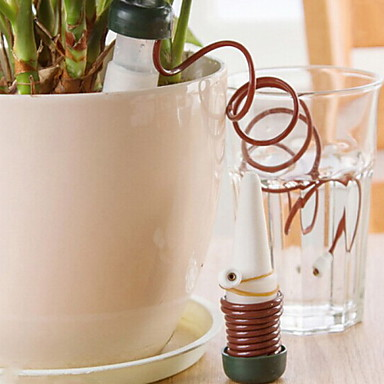 Fashion Creative PP Automatic Watering Device Garden Tool Sets(2pcs/card)