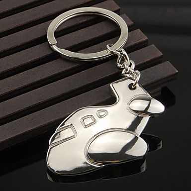 Metal Key Buckle Small Plane Key Buckle
