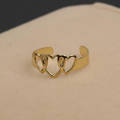 Κρίκοι Προσαρμόσιμη Πάρτι Κοσμήματα Κράμα / Στρας Γυναικεία Εντυπωσιακά Δαχτυλίδια 1pc,Ένα Μέγεθος Ασημί