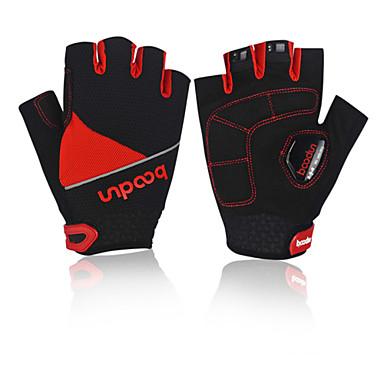 BOODUN/SIDEBIKE® Спортивные перчатки Перчатки для велосипедистов Влагопроницаемость Дышащий Ударопрочность Меньше трения Без пальцев