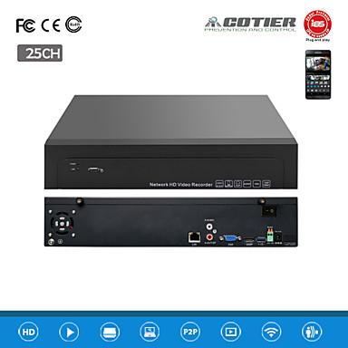 cotier® 25ch 1.5ια 2hdd λιμάνι / 960P / HD / p2p σύννεφο / NVR N25 / 1.5ια-2h