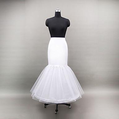 Hochzeit Besondere Anlässe Unterhosen Polyester Tüll Bodenlänge Meerjungfrau- und Trompetenstil mit