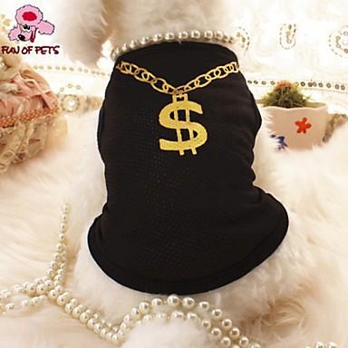 Kedi Köpek Tişört Köpek Giyimi Cosplay Düğün Siyah Pembe Kostüm Evcil hayvanlar için