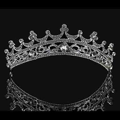 Yapay Elmas alaşım - Tiaras 1 Düğün Başlık