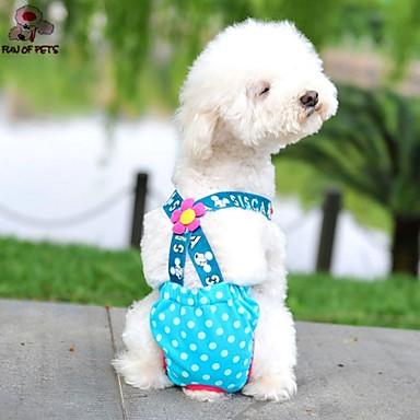 Коты / Собаки Брюки Несколько цветов Одежда для собак Лето / Весна/осень В горошек На каждый день / Мода