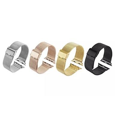 Uhrenarmband für Apple Watch Series 3 / 2 / 1 Apple Mailänder Schleife Edelstahl Handschlaufe