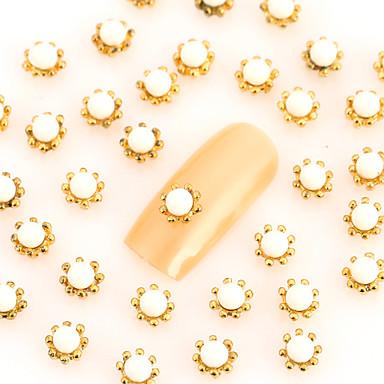 Biżuteria na paznokcie - Palec - Streszczenie / Zwierzę / List / Ślub - Metal - 10*7*0.3 - 50