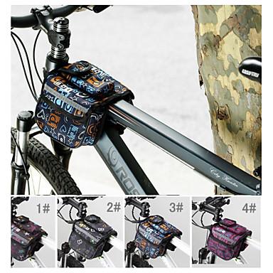BOI® Τσάντα ποδηλάτου 1.9LΤσάντα για τιμόνι ποδηλάτου / Τσάντα για σκελετό ποδηλάτουΑδιάβροχη / Αδιάβροχο Φερμουάρ / Αντικραδασμικό /