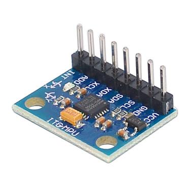 den nyeste mpu 6050 6000 3v ~ 5v 6 aksen gyro akselerometer modulen